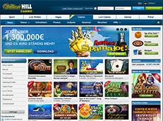 William Hill Casino screenshot